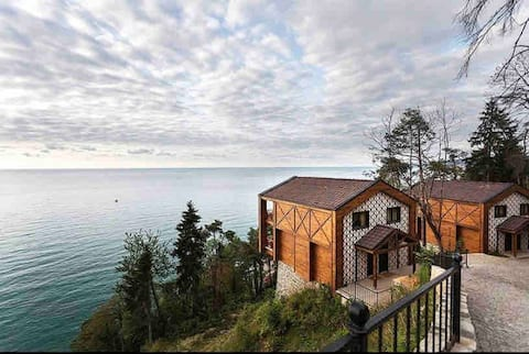 Trabzon Bungalow in Forest next to Sea