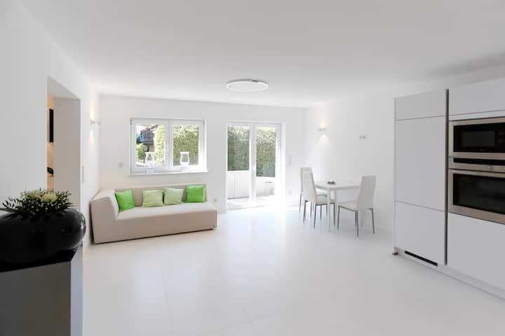 Design Wohnung - Traum in weiss - für NICHTRAUCHER