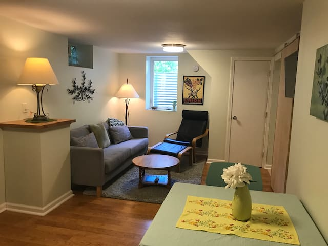 Private apartment in Mpls home near airport and VA
