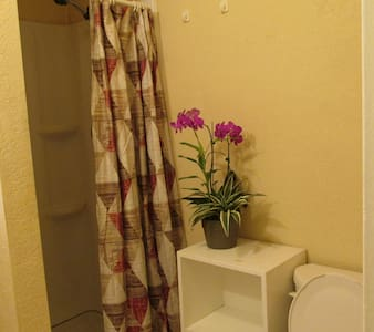 Cozy room w/ private bath& entry - Anaheim - Ev