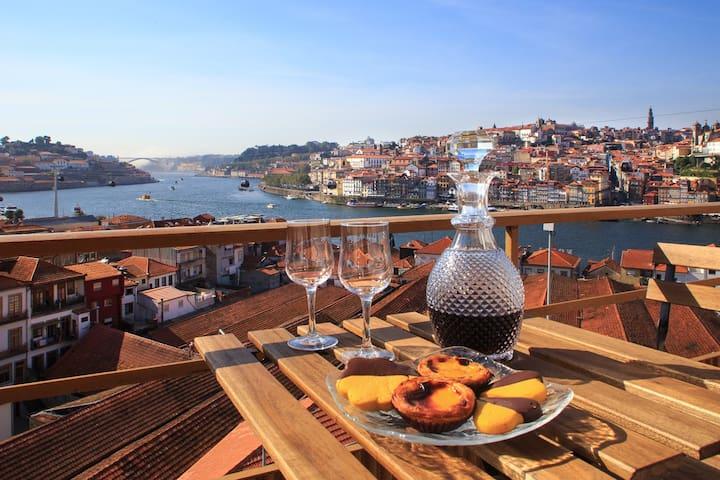 Vues époustouflantes et localisation-Porto e Douro