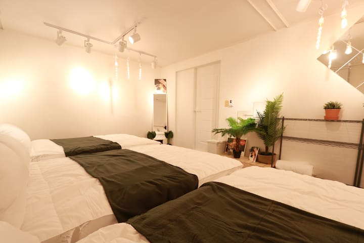 4★OZhouse★3min from hongdaestation#2-4private room
