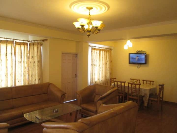 | Mountain view| 3 BHK in picturesque location.