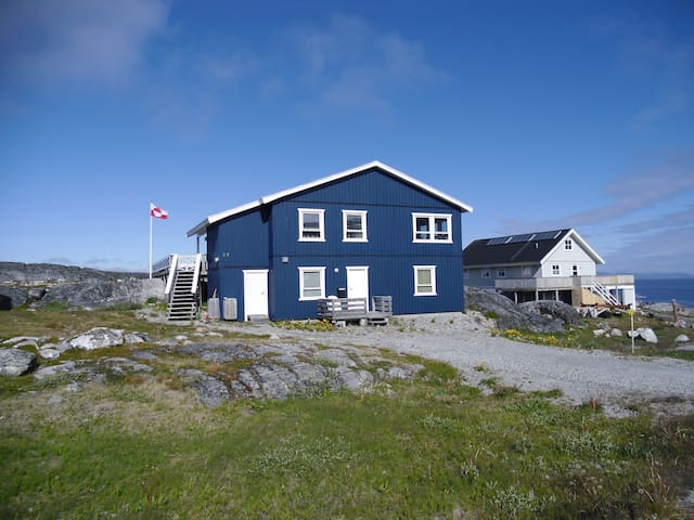 Wonderful private apartment with great view - Nuuk - Byt