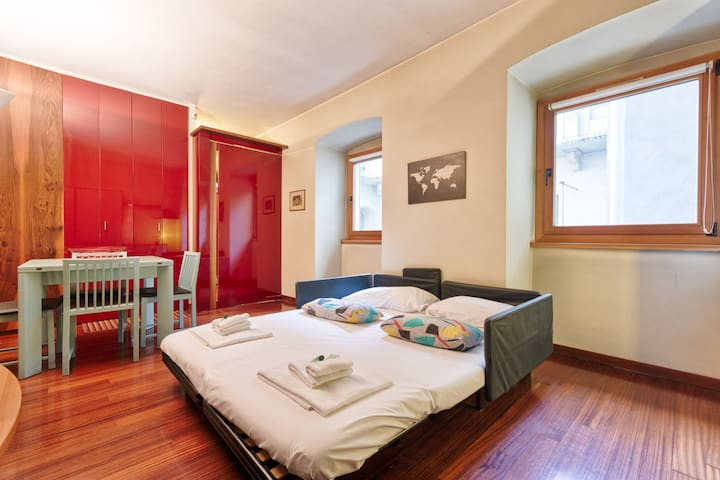 In the heart of Turin x2! FREE PARKING & WiFi