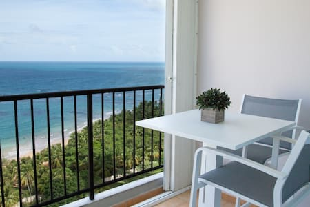 AHHH-MAZING VIEWS! Beach Front Apt. - Luquillo