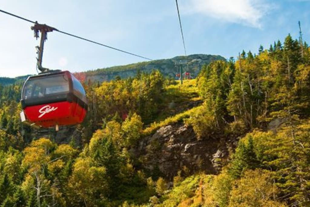 Take a Ride in the Sky... Tram runs all Summer for Hiking , Ziplining ...
