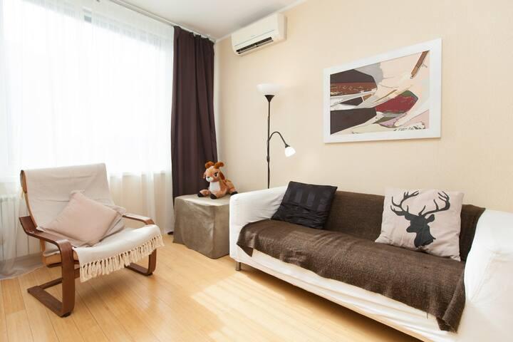 Квартира с отличным видом