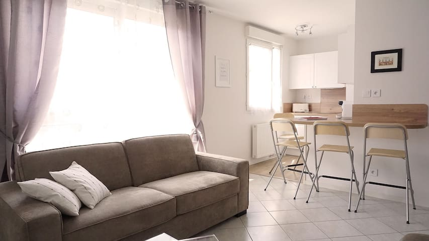 Studio near Disneyland Paris, Marne La Vallée - Bussy-Saint-Georges - Apartment