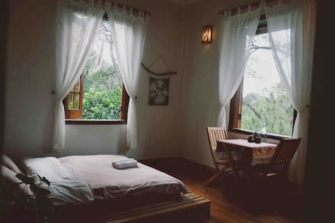 Double room with garden view - Sum Villa