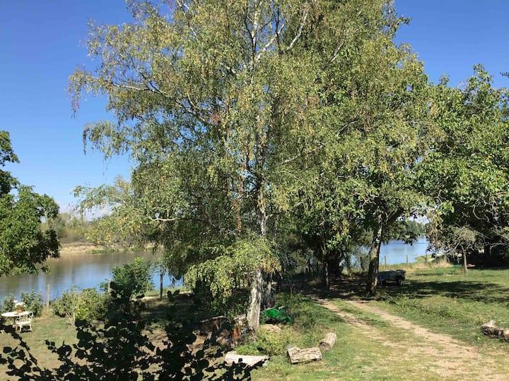 Chambre avec vue privilégiée sur Loire Deux