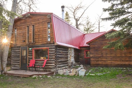 Best of Both Worlds - East Glacier Cabin