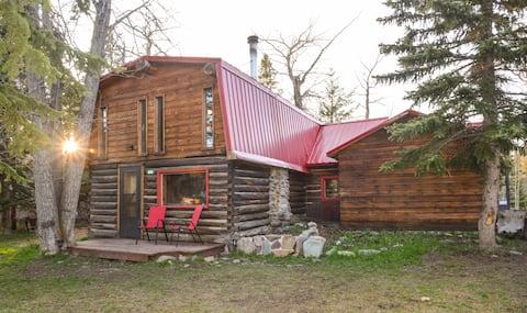 Best of Both Worlds - East Glacier Cabin
