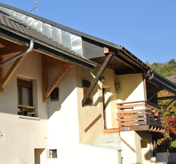 Balcon terrasse au soleil ...