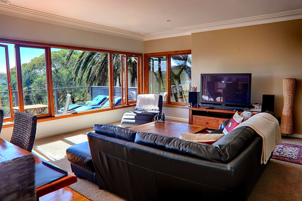 Open plan living keeps you in touch with friends ...