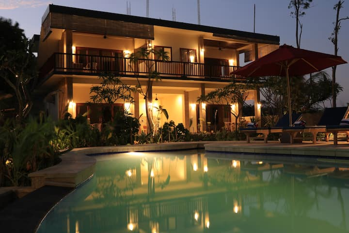 Jaya Villa Amed  1 - Cozy Studio with Scenic View