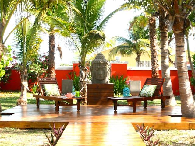 ❤️BUDDHA COTT|2BR-2BA Villa in GraceBay near Beach