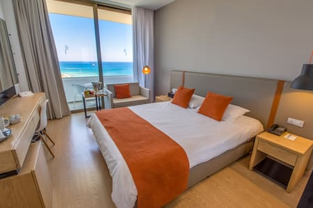 Superior Sea View Room - Private Beach & Gardens - Paralimni