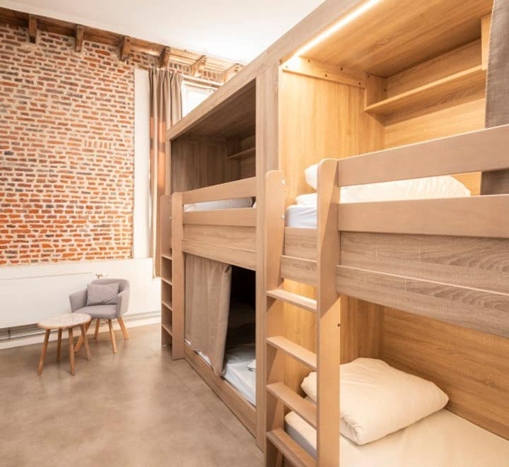 Cosy room for 4 ! Private bathroom