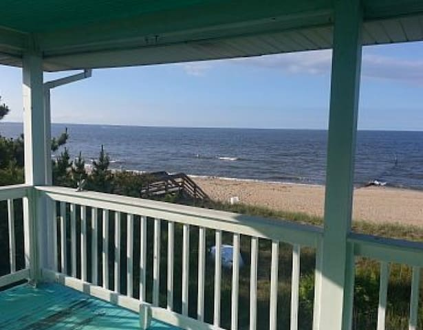 BEACH HOUSE! OVERLOOKS Bay & Ocean! Sleeps 5! Book - Norfolk - Apartamento