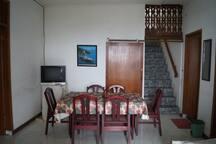 Living room lower floor