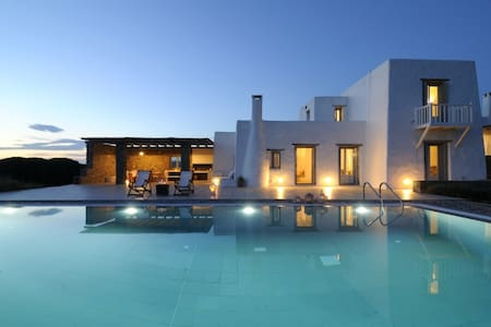 Villa Alkaeos West (102041) blue - Voutakos Parou