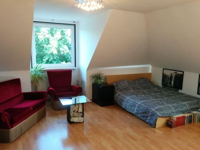 Zimmer in unmittelbarer Alsternähe - Hamburgo - Apartamento