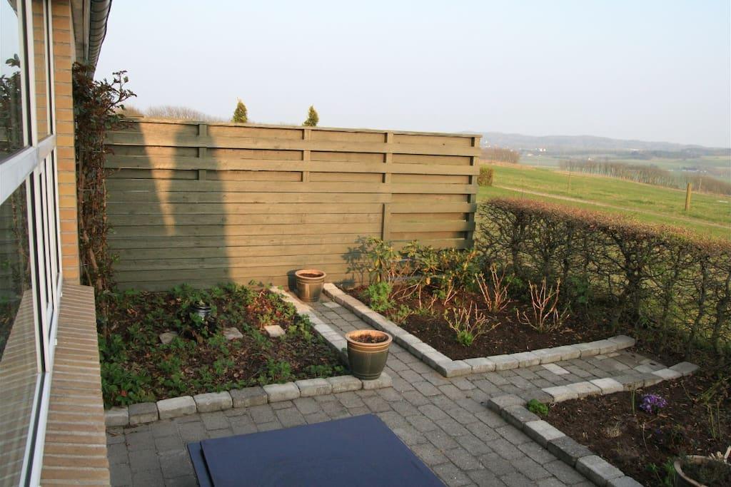 Den lille terrasse