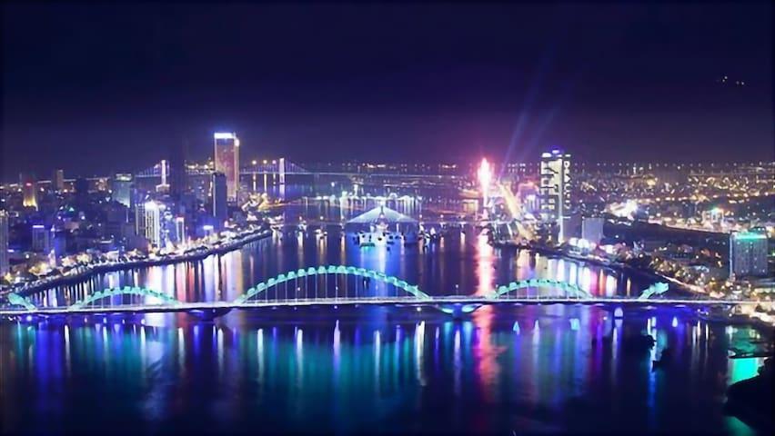 Quiet, Cozy, Central City# Dragon Bridge-5Min Walk