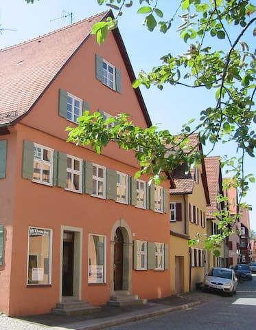 Gemütliche Wohnung in Altstadthaus - Dinkelsbühl - Huoneisto