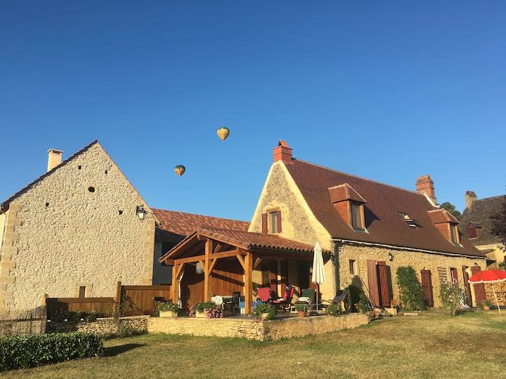 Family house in the epicenter of Dordogne valley