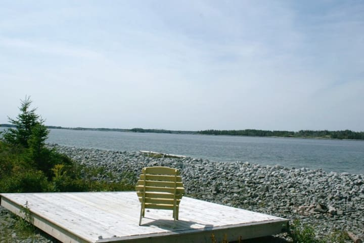 Rockland Cottage ~ Private Oceanfront Cottage