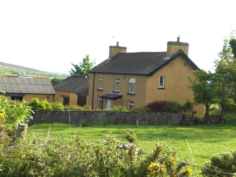 Traditional Irish house in the heart of the countryside. Perfect getaway.