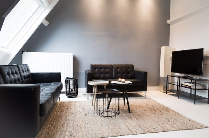 Spacious design apartment close to Amsterdam
