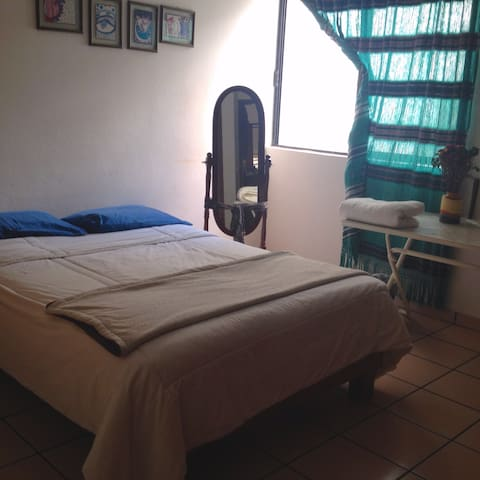 Peaceful room on beautiful department - Oaxaca - Apartamento
