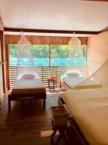 Tranquilo y natural alojamiento en la selva@