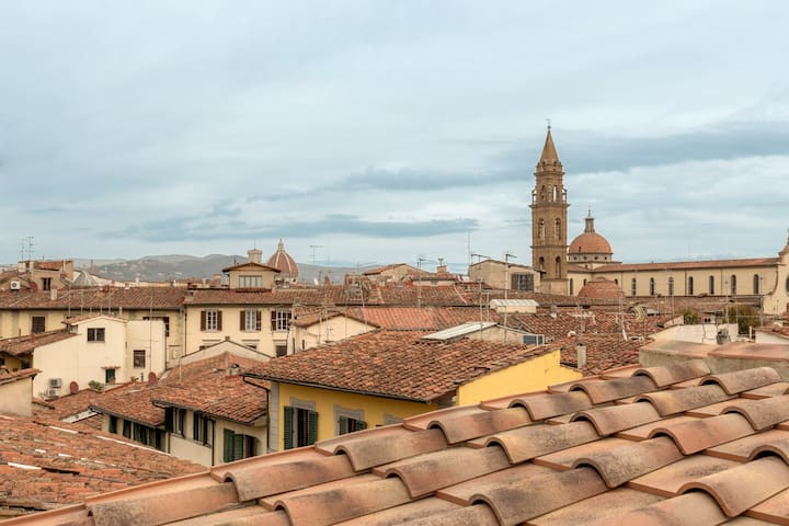 PANORAMIC VIEW ON FLORENCE SKYLINE WI-FI A/C