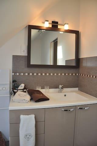 Aperçu salle de bain