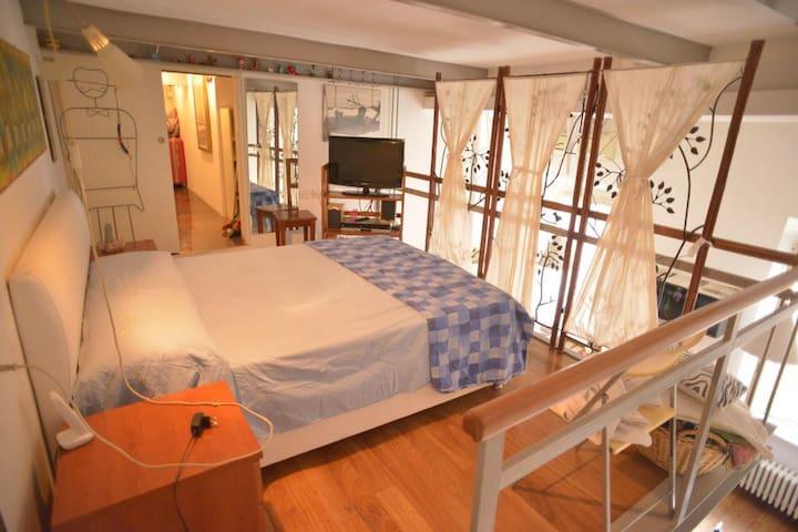 Testaccio luxury loft