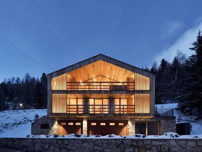Luxus Chalet inmitten der Ortler Alpen in Sulden