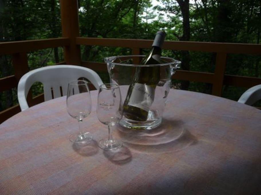 Nice air, nice wine!