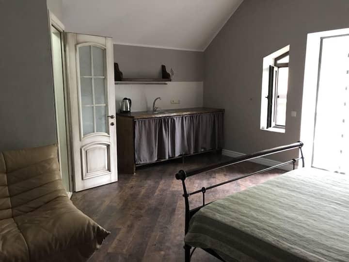 Аппартаменты в частном доме с уютным двориком