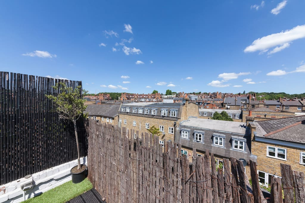 My property has everything you need; a fantastic roof terrace...