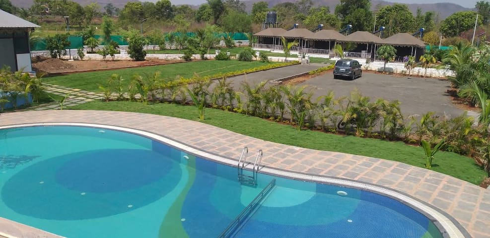 Karjat group tent house