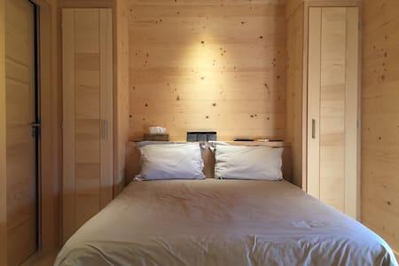 2 chambres privées dans chalet neuf - Combloux