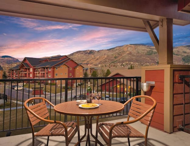 Great 1 br condo in luxury resort - Steamboat Springs - Résidence en temps partagé
