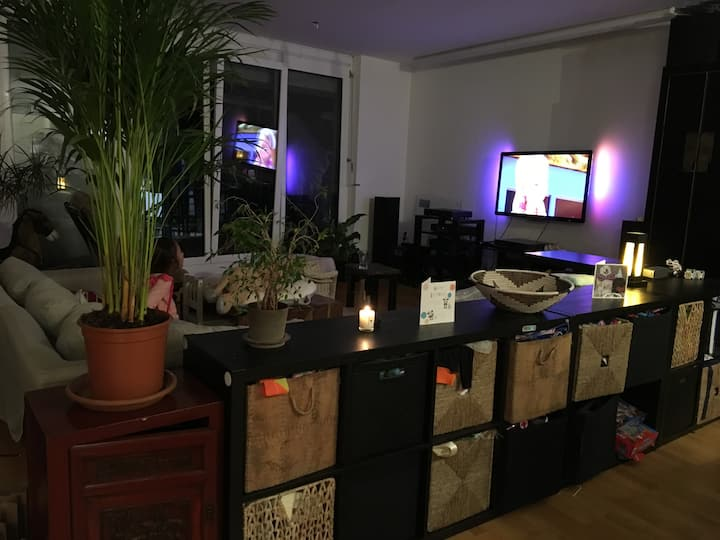 a quiet apartment in the middle of Stuttgart