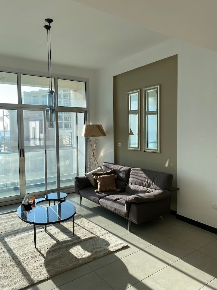 Bright 2BR well located w/ Terrasse & Rooftop pool