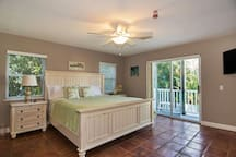 Master Suite with Walk-Out Balcony
