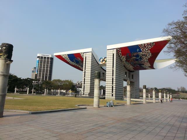 작고 소박한 주택 - Gangdong-gu - Hus